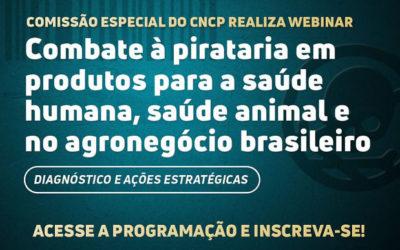 Sindan participa de webinar sobre combate à pirataria de produtos veterinários